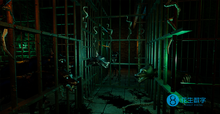 花生数字VR鬼屋内容场景